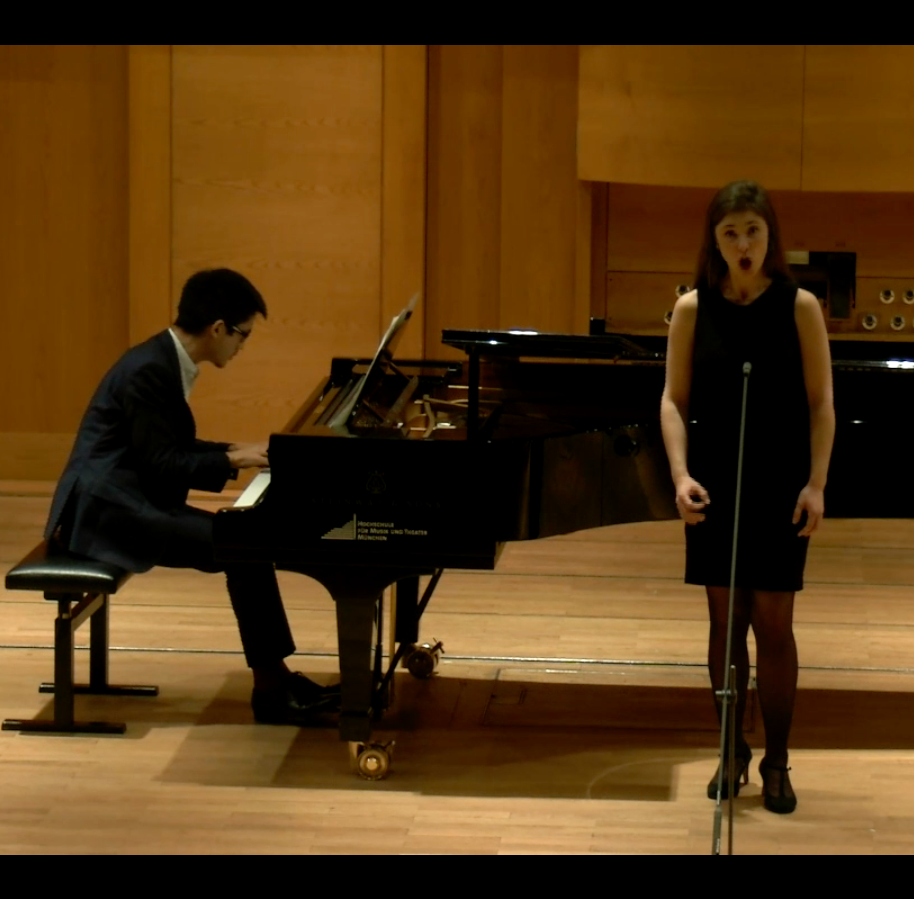 "Elena Harsányi & Toni Ming Geiger – Hugo Wolf ""Lied vom Winde"""