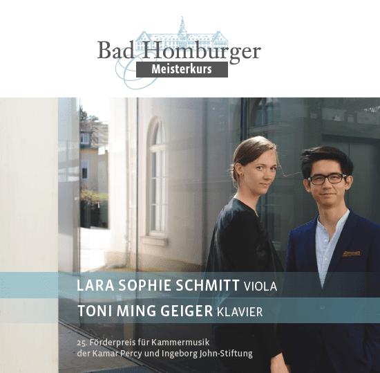 Lara Sophie Schmitt & Toni Ming Geiger © Bad Homburger Schlosskonzerte/Charlotte Triebus